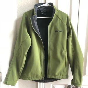 Mens Green Marmot Jacket Medium